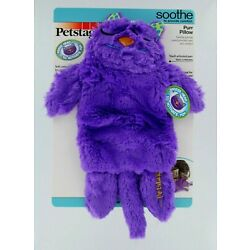 Petstages Purple Purr Pillow Cat Kitten Toy Play Calming Soothing Comfort NWT