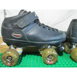 Riedell Carrera #2 Super Grip Speed Roller Skates Mens Size 7 Womens Size 8.5