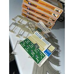Tyco US 1 Electric Trucking Lot TBoxes, And Instructions And Tracks LOOK
