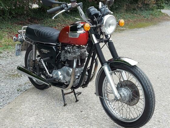 1979 TRIUMPH BONNEVILLE T140. MATCHING NUMBERS. NICE CLASSIC. DELIVERY AVAILABLE