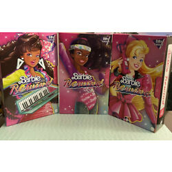 Barbie Rewind 80s Edition Dolls Night Out Working Out Career Girl Lot NIB Toys