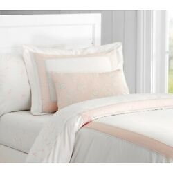 Pottery Barn Kids Monique Lhuillier Ethereal Piece Sateen Duvet cover twin