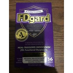 1 Of Brand New FDgard for Functional Dyspepsia 36 Capsules Indigestion Exp:08/23