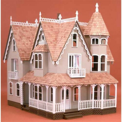 Garfield dollhouse kit by greenleaf doll house kits new ebay for Victorian kit homes