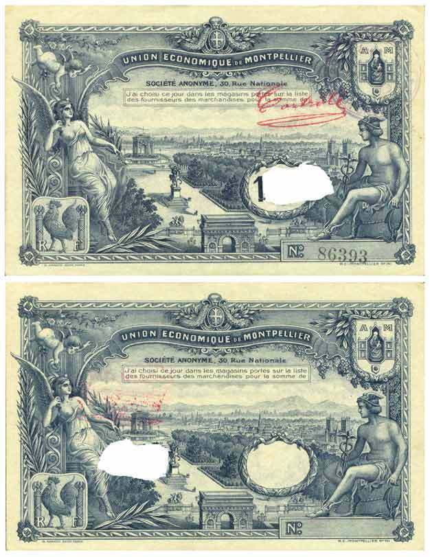 France 100 francs chambre de commerce type montpellier ebay for Chambre de commerce de l outaouais