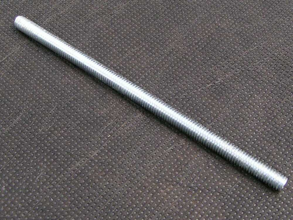 Set of threaded rods mm bed fittings bolts new ebay