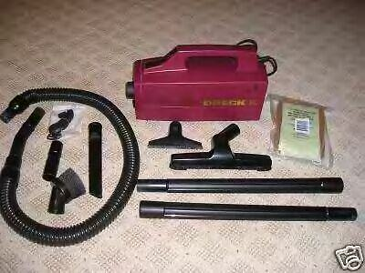Oreck Xl Bb870 Canister Vacuum Maroon W Attachments Ebay