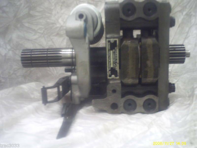 Massey Ferguson 65 Hydraulic Pump : New massey ferguson hydraulic pump fits  ebay
