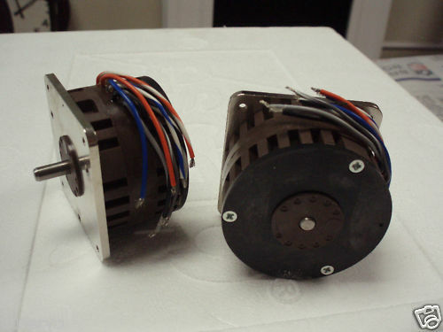 Escap high speed step stepping motor lot of 2ea ebay for High speed stepper motor