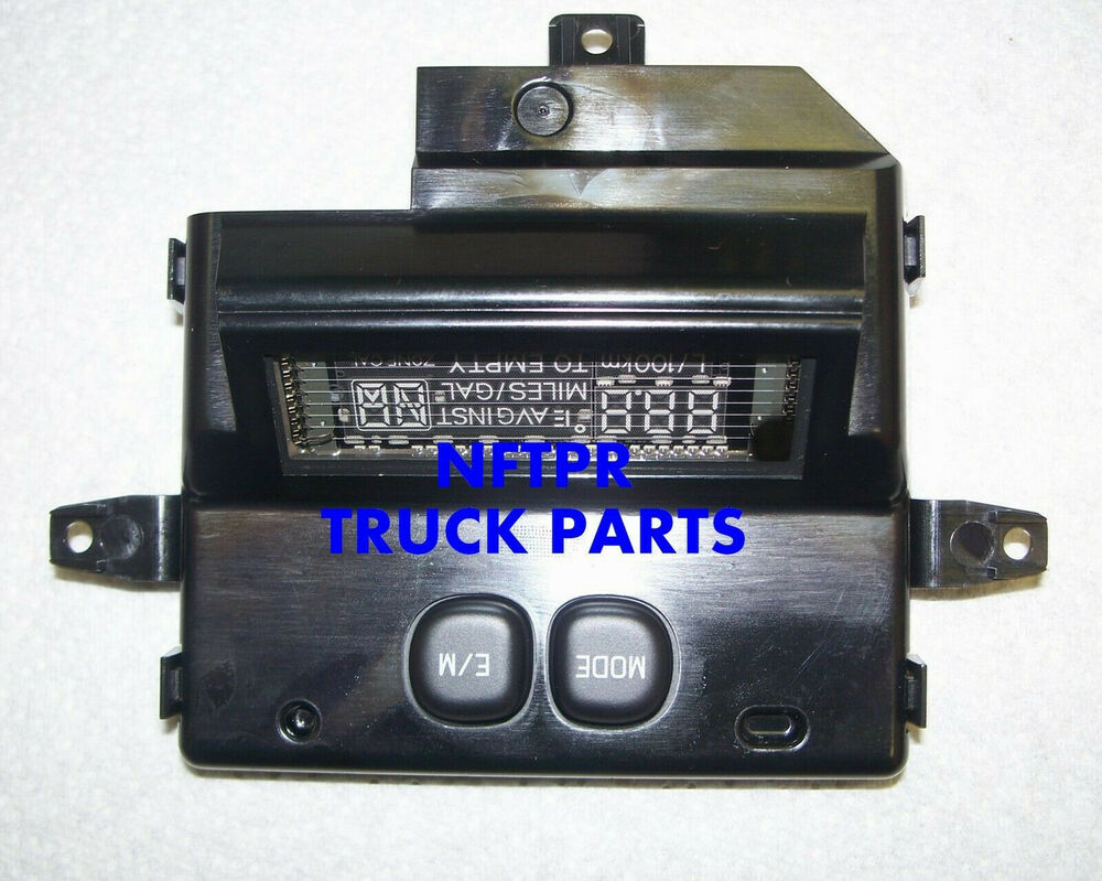 ford superduty f 250 f 350 overhead console computer new. Black Bedroom Furniture Sets. Home Design Ideas