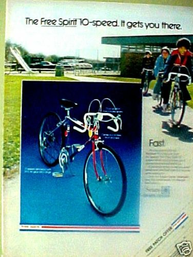 Sears Toys For Boys : Sears speed free spirt boys bicycle bike toy ad ebay