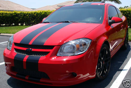 chevy chevrolet cobalt 8 racing rally stripe decals ebay. Black Bedroom Furniture Sets. Home Design Ideas