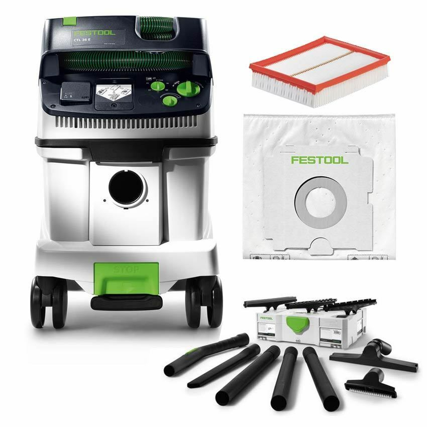 festool sauger absaugmobil cleantec ctl 26 e 583 490 583490 ctl26 reinigungsset ebay. Black Bedroom Furniture Sets. Home Design Ideas