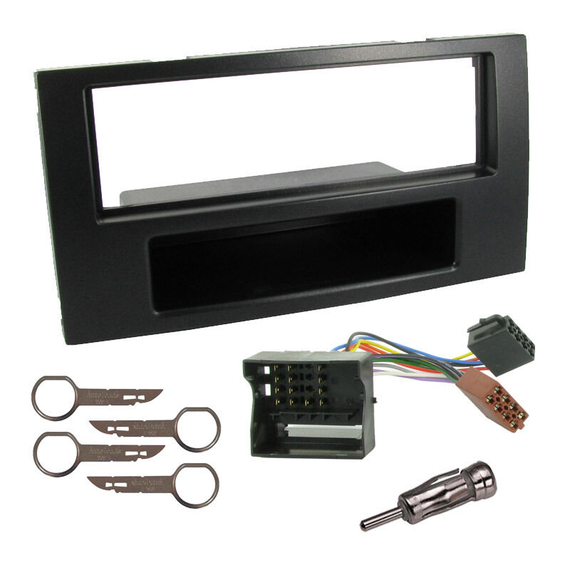 car stereo fitting kit for ford focus mk2 c max ebay. Black Bedroom Furniture Sets. Home Design Ideas