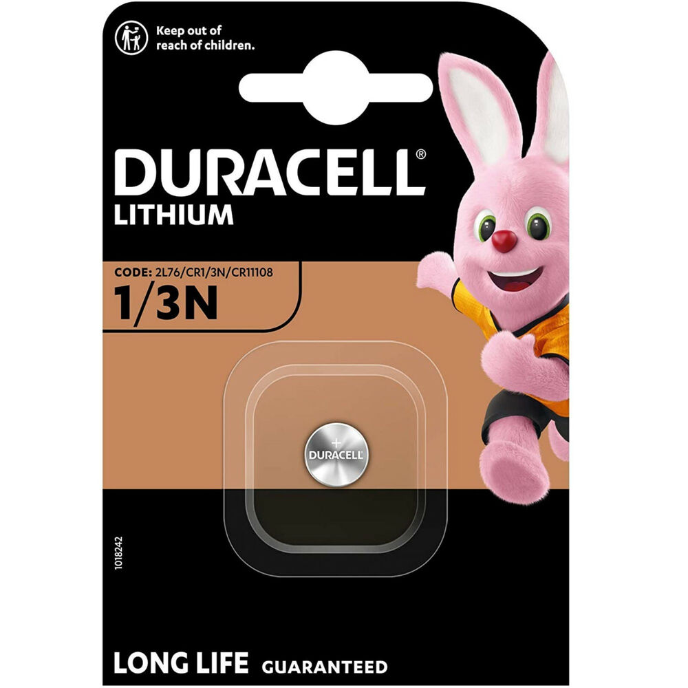 duracell 1 3n lithium battery dl 1 3 n cr1 3n 2l76 uk ebay. Black Bedroom Furniture Sets. Home Design Ideas