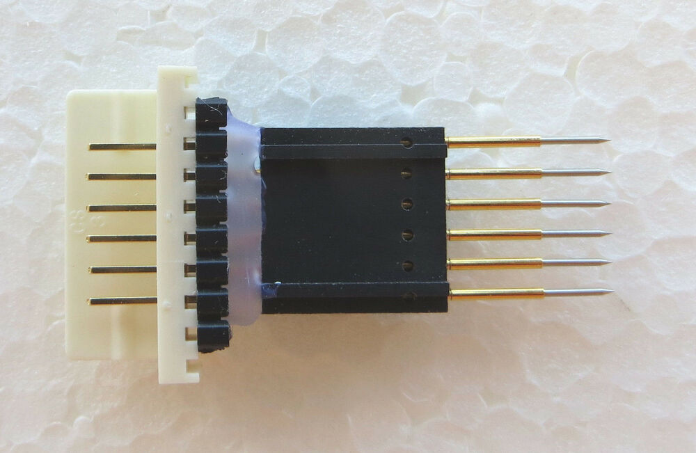 Spring Loaded Pogo Pin Adapter For Jtag Cable Pitch 0 1