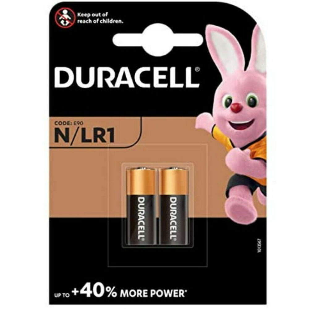 2 duracell n batteries lr1 mn9100 e90 am5 kn exp 2018 ebay. Black Bedroom Furniture Sets. Home Design Ideas