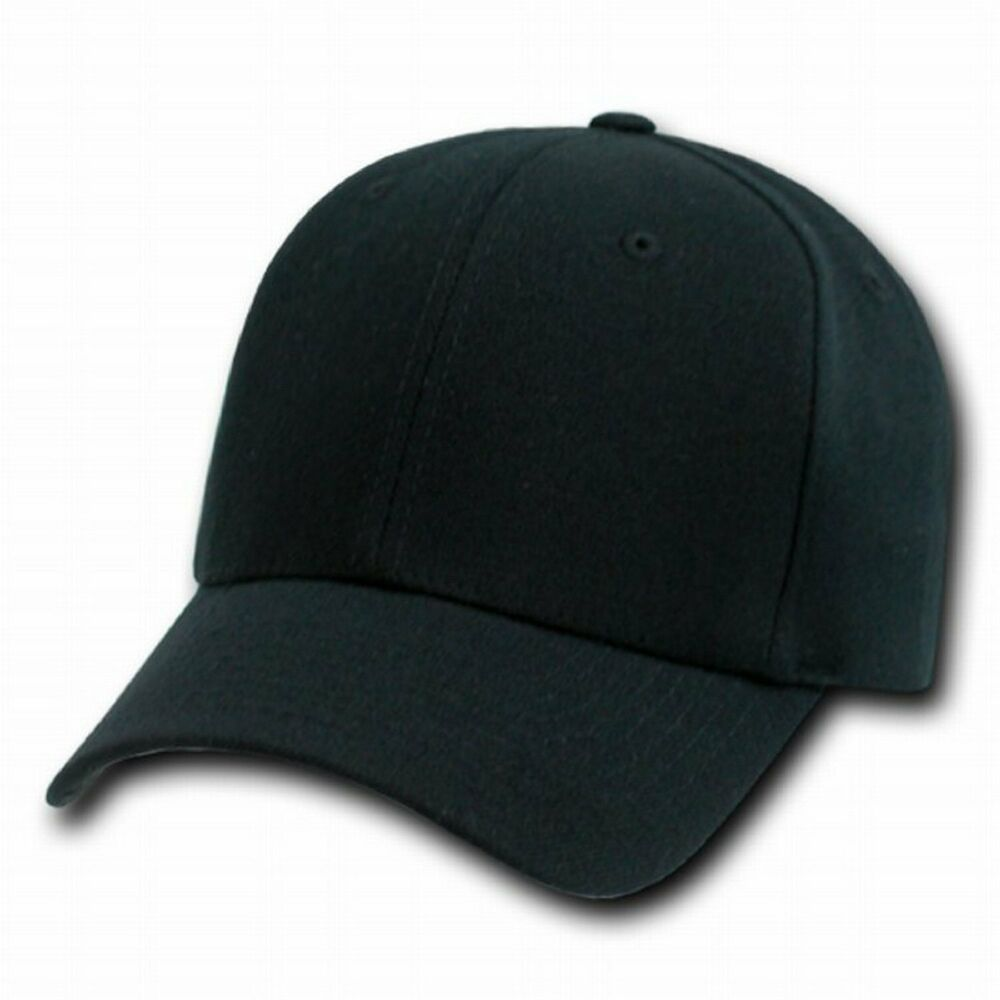 BLACK FLEX ULTRA FIT BASEBALL CAP HAT CAPS HATS PLAIN | eBay