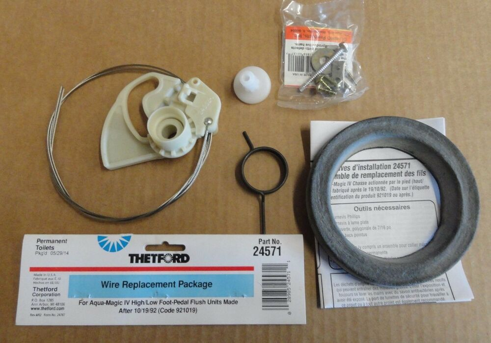 Rv Thetford Aqua Magic Iv Wire Replacement Package 24571