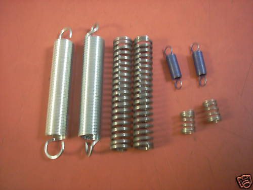 8 Assorted Sizes Springs Compression And Extension Ebay