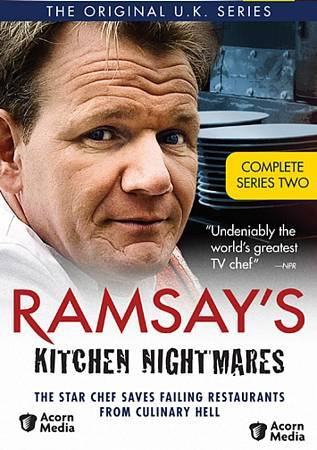 Ramsay 39 s kitchen nightmares complete 2nd second series for Kitchen nightmares season 1