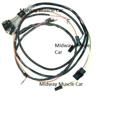 engine wiring harness 66 chevy chevelle 327 283 el camino