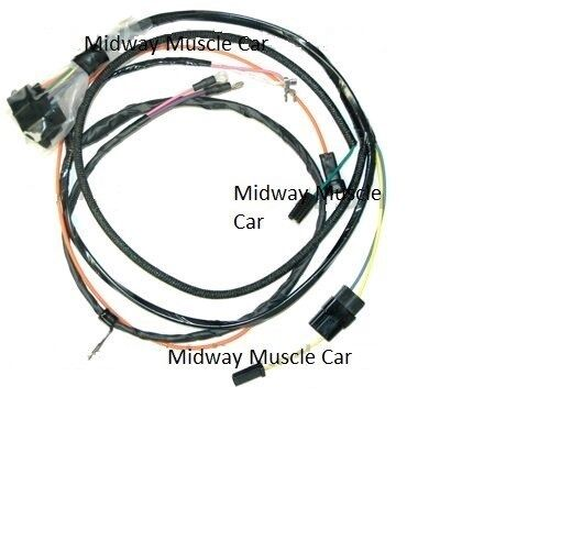 engine wiring harness 67 chevy chevelle el camino 396 427