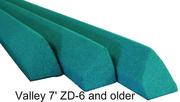 Replacement Pool Table Rails for 7' Valley, covered   eBay