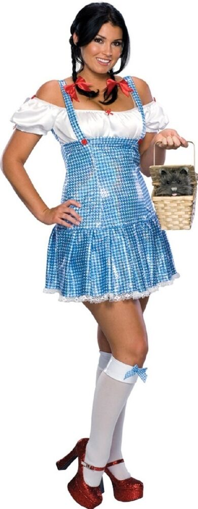 Sexy Sequin Dorothy Adult Costume Fancy Dress Outfit Ebay  sc 1 st  Meningrey & Dorothy Costume Ebay - Meningrey