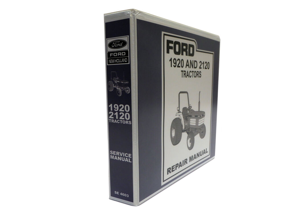 Ford 1920 And 2120 Tractor Factory Service Manual Repair