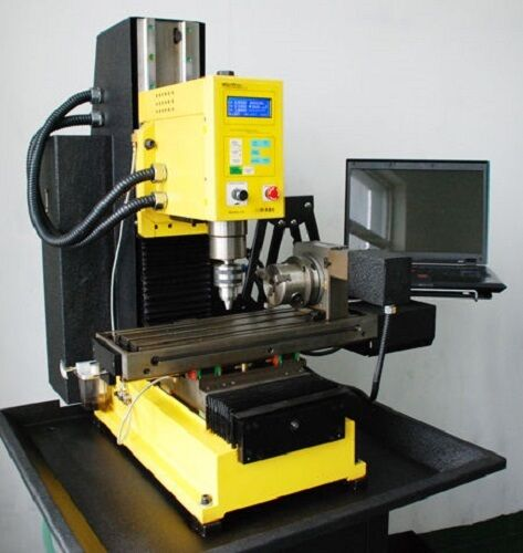 Syil X5plus Cnc Milling Machine With 4th Axis Ebay