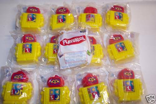 Playskool Toy Food : New wendys kids meal playskool toys ebay