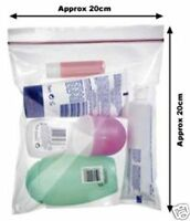 5 Airport Security Carry-on Liquid Bags