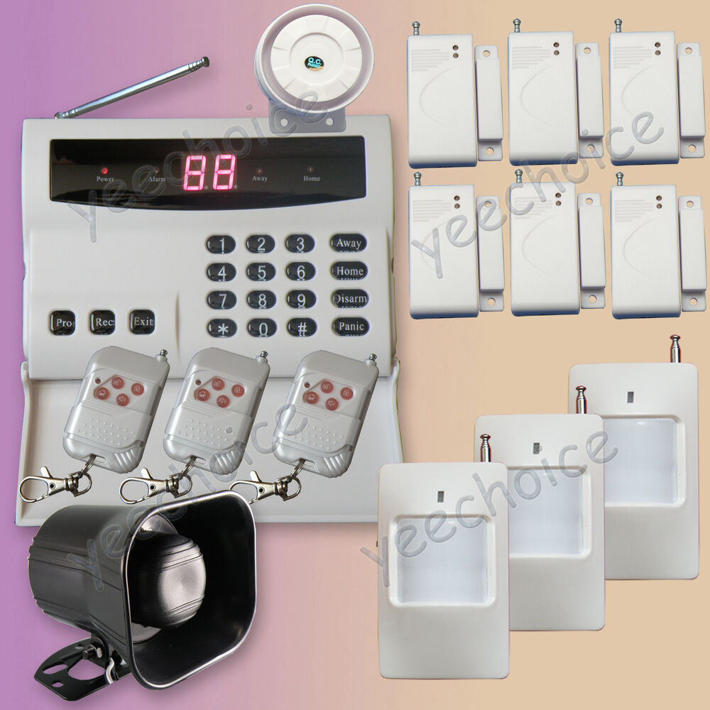 T Series Wireless Home Security Alarm System Auto Dialer