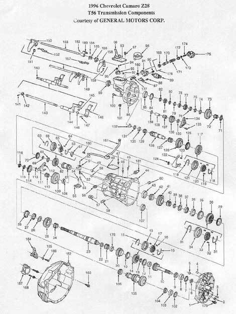 Ford Aod Transmission Repair Diagram