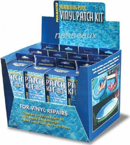 Underwater Vinyl Repair Kit Swimming Pool Patch Liner Ebay