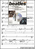 Play Guitar With The Beatles 2 TAB Sheet Music Book +CD