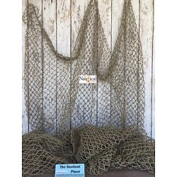 Kyпить Used Commercial Fishing Net ~ Vintage Fish Netting ~ Old Recycled Reclaimed на еВаy.соm