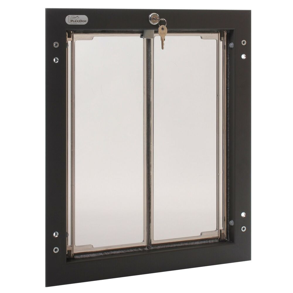 Plexidor Large Dog Door Wall Unit Satin EBay