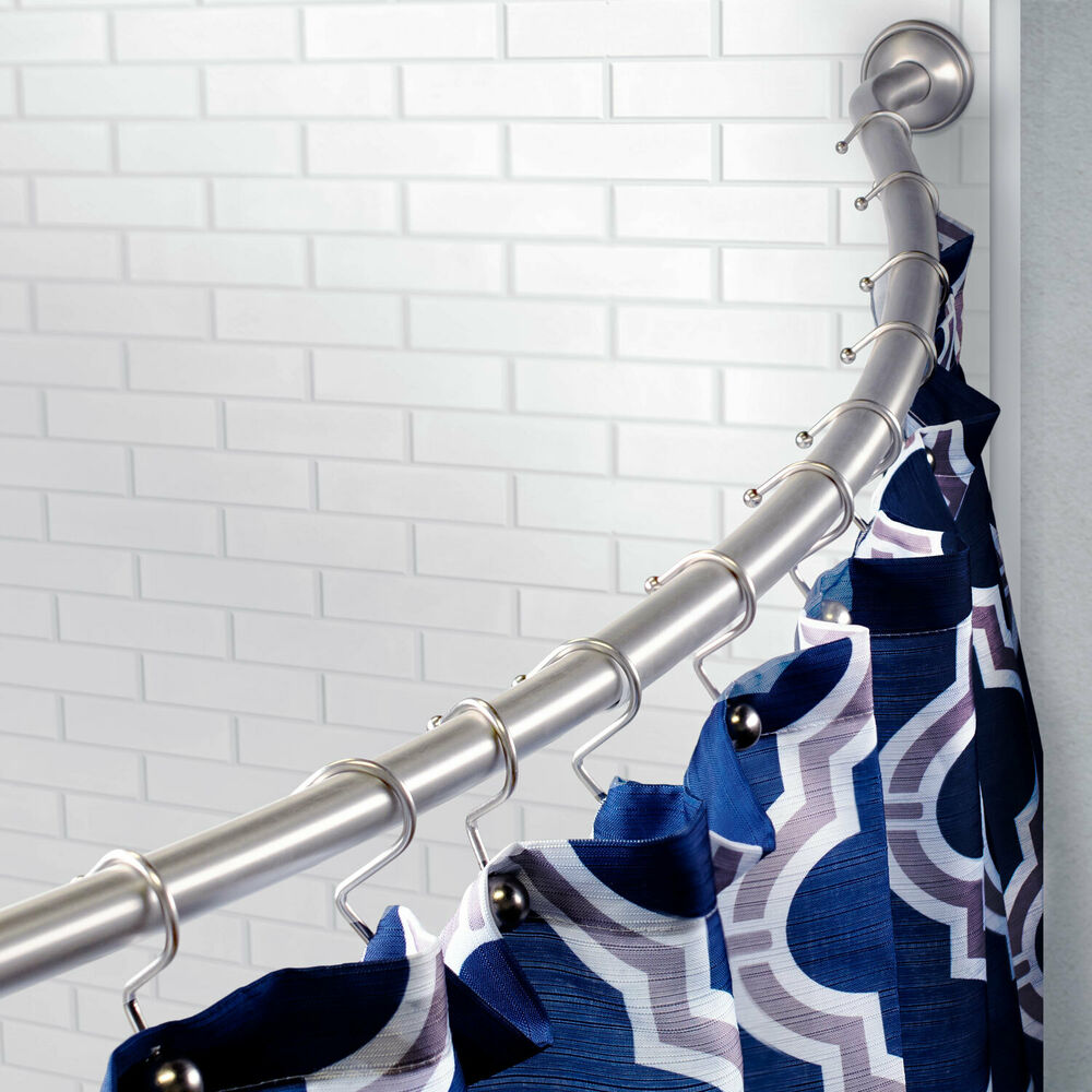 Elegant Shower Curtain Sets C-shaped Shower Curtai
