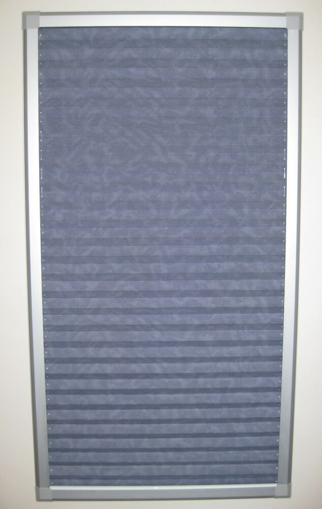 perfect fit pleated skylight blinds for velux ggl f06 ebay. Black Bedroom Furniture Sets. Home Design Ideas