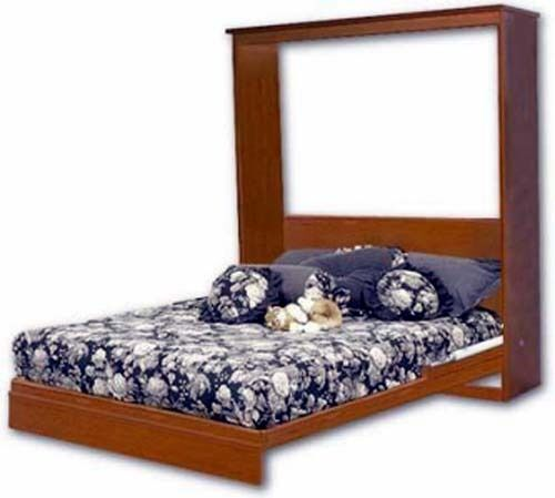 Murphy Wall Queen Full Twin Bed Woodworking Plans