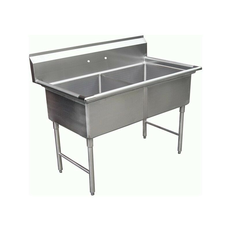 Compartment Stainless Steel Sink 18