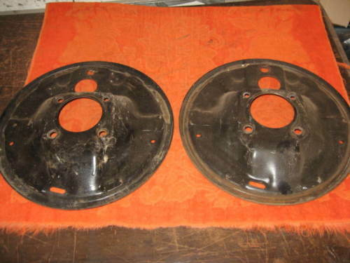 Chevy Truck Brake Backing Plate : Chevy front brake backing plates ebay