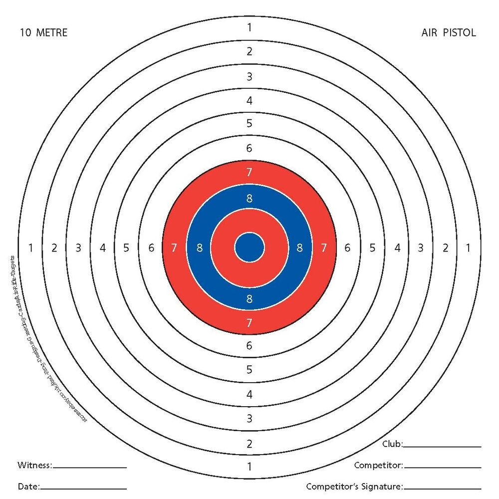 It is an image of Mesmerizing 22 Targets Printable