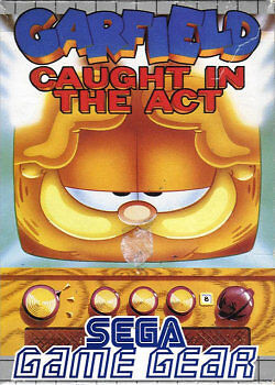 garfield caught in the act game gear by cobblestones