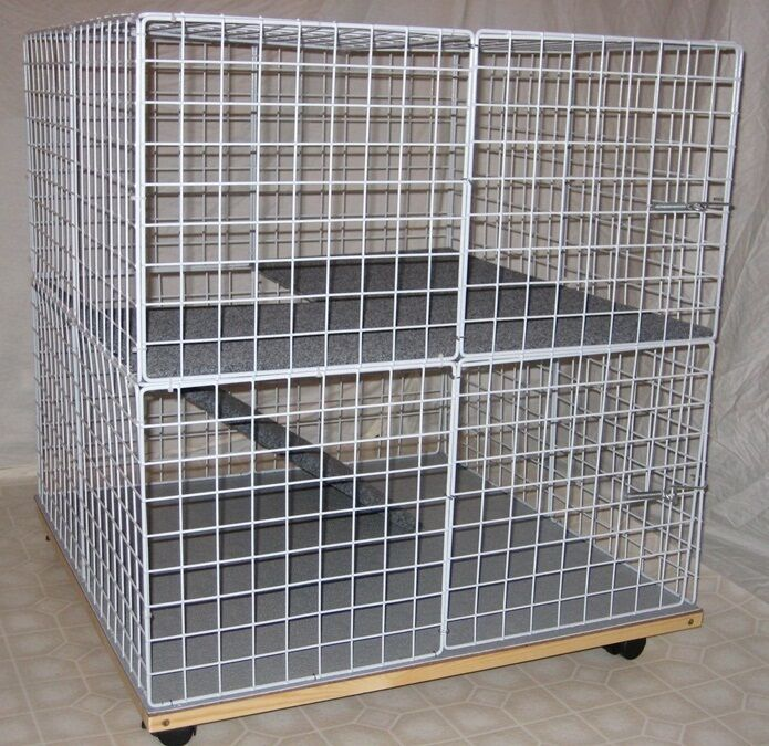 bunny mini condo indoor rabbit cage hutch pet pen ebay. Black Bedroom Furniture Sets. Home Design Ideas