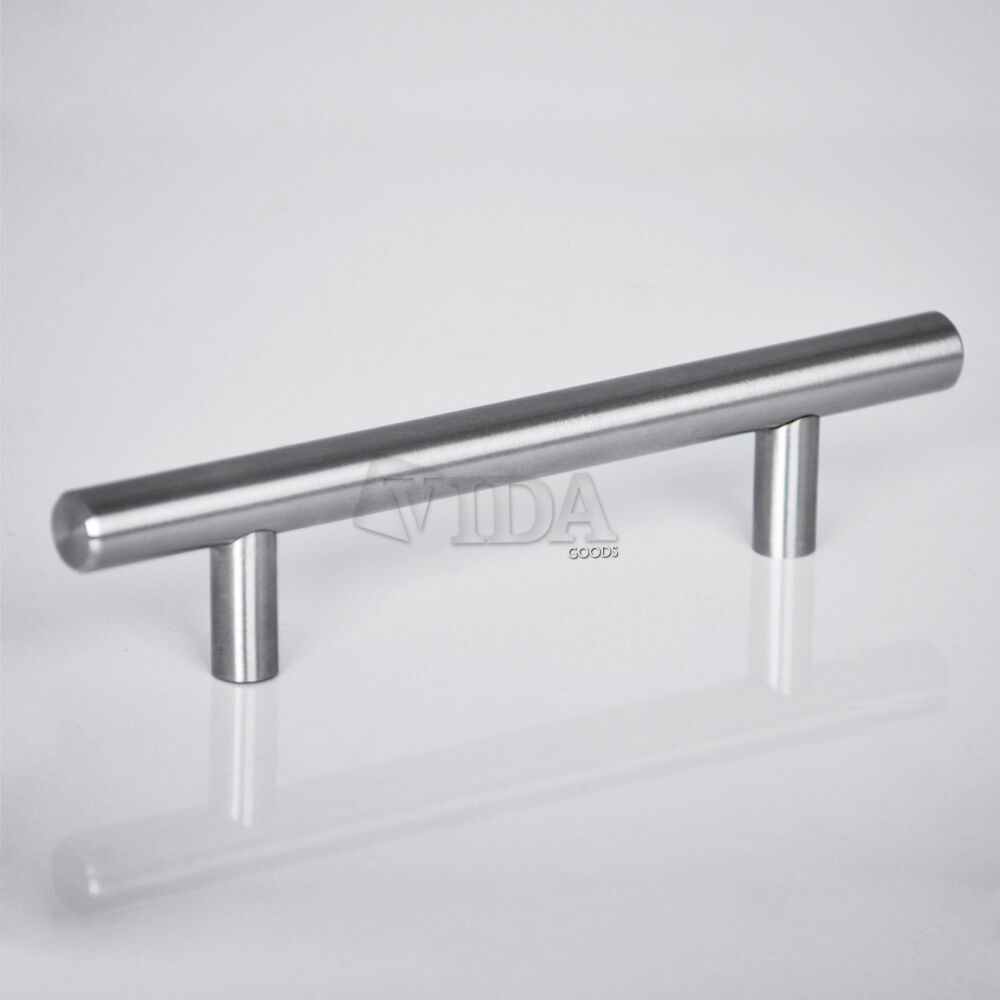 "Kitchen Cabinet Pull Handles: 36"" Modern Stainless Steel Kitchen Cabinet T Pulls"