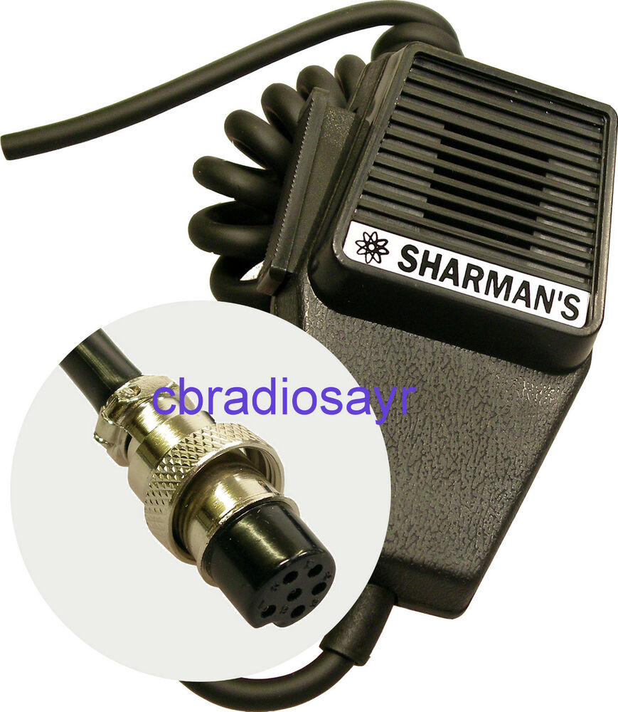 Replacement CB Microphone 6 Pin Wiring, Albrecht Midland ...