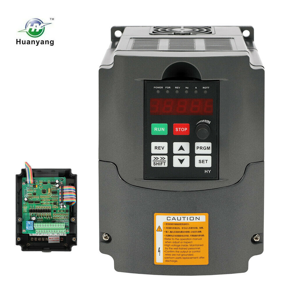 4KW 220V VARIABLE FREQUENCY DRIVE INVERTER VFD NEW 5HP HOT PRODUCT FOR CNC 607885243418 | eBay